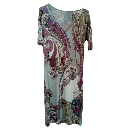 Etro Etro patroon jurk figurbetont