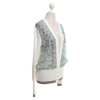 Hermès Strickjacke mit Muster