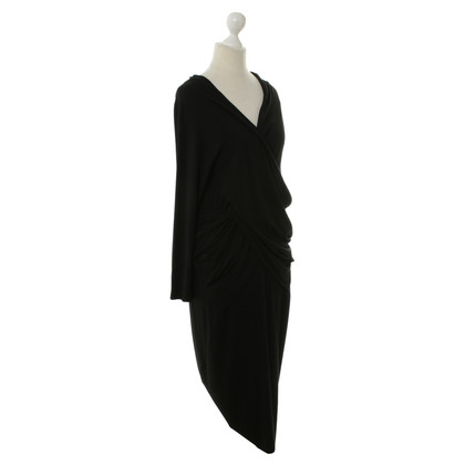 DKNY Abito in jersey nero