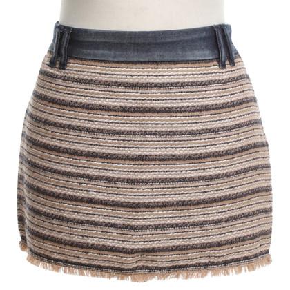 Patrizia Pepe skirt with boucle tissue