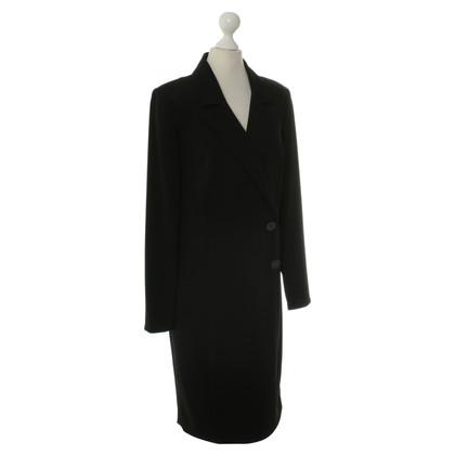 Barbara Schwarzer Kleid im Blazer-Stil