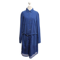 Marc Cain Blouse dress in blue