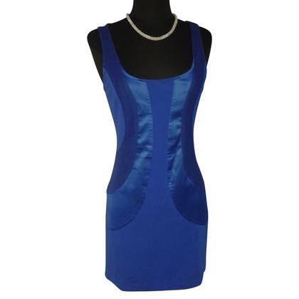 Diane von Furstenberg Nauwsluitende jurk in blauw