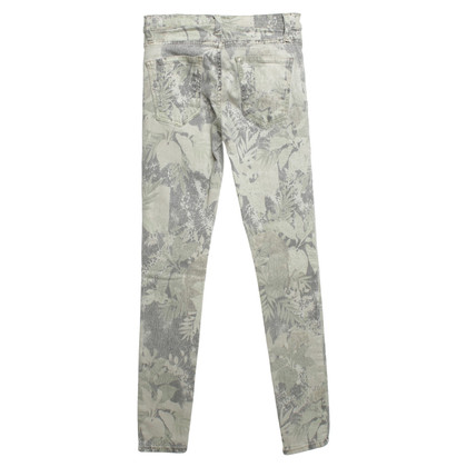 J Brand Jeans with floral pattern