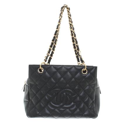 Chanel Winkelen Tote van Caviar Leather