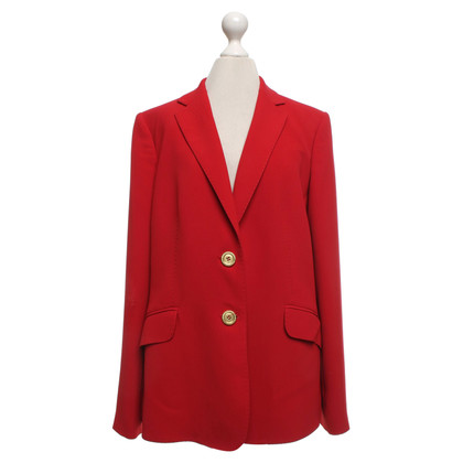 Burberry Blazer en rouge