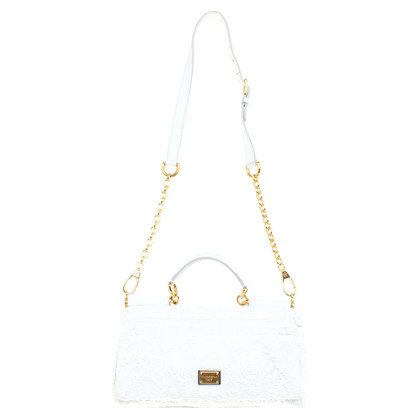 "D&G ""Miss Sicily Bag"" in white"