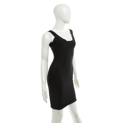 Hervé Léger Bodycon dress in black