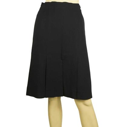 Chanel Blue Skirt