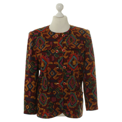 Emanuel Ungaro Colorful Blazers with pattern