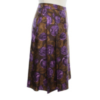 By Malene Birger skirt with floral pattern