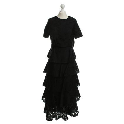 Vilshenko 2-piece dress in black