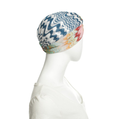 Missoni Knitted hat with pattern