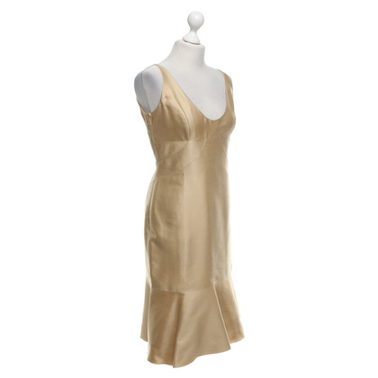 Valentino Dress in beige / gold