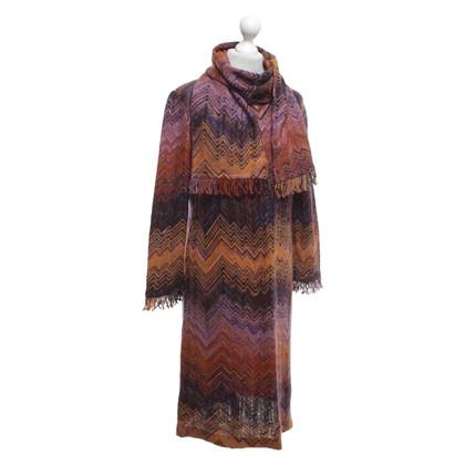 Missoni Abito lavorato a maglia con motivo a zigzag
