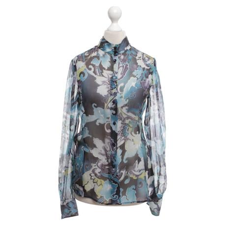 Armani Collezioni Bluse mit floralem Print Bunt / Muster