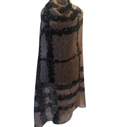 Burberry panno di cashmere con la seta / lana