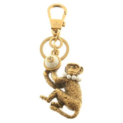 Gucci Gold colored key chain