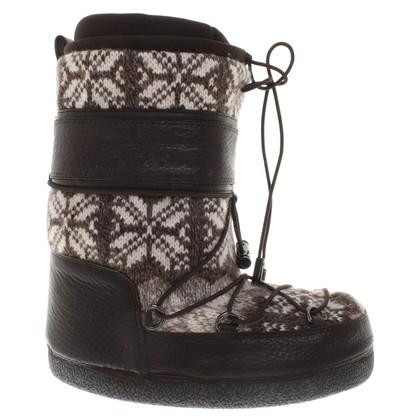Sebastian Boots in Black / White