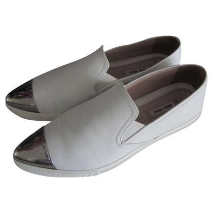 Miu Miu KO sneakers white.