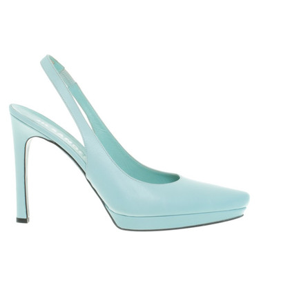 Jil Sander Slingpumps in Mint
