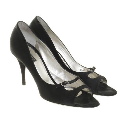 Dolce & Gabbana Zwarte gluren-tenen