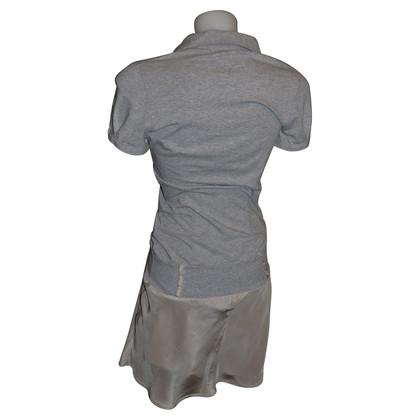 Brunello Cucinelli katoen en zijden jurk