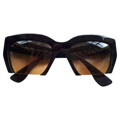 Miu Miu Zwarte zonnebril