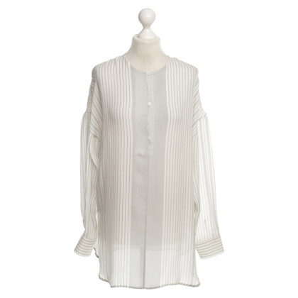 Loro Piana Silk top with stripes