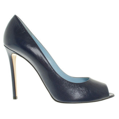 Pollini Peep-toes in dark blue