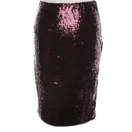 Ralph Lauren Sequins skirt in Bordeaux