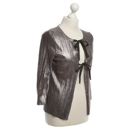 Jil Sander Silver-colored Cardigan