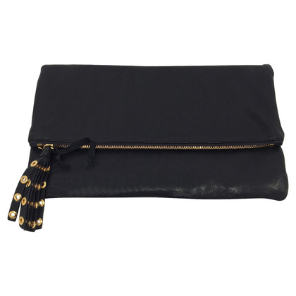 Red Valentino Black foldable clutch