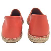 Red Valentino Papaya leather Espadrillas