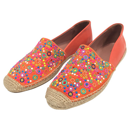 Red Valentino Espadrillas in pelle Papaya