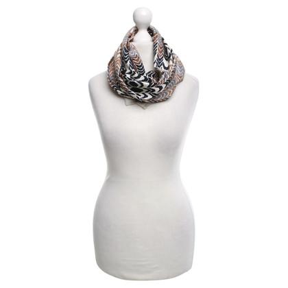 Christian Dior Panno con motivo geometrico