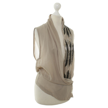 By Malene Birger Vest with semi-precious stones
