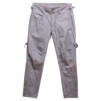 Marithé et Francois Girbaud trousers in grey