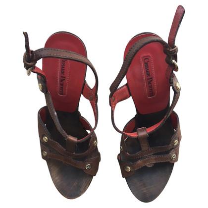 Cesare Paciotti sandaal bruin