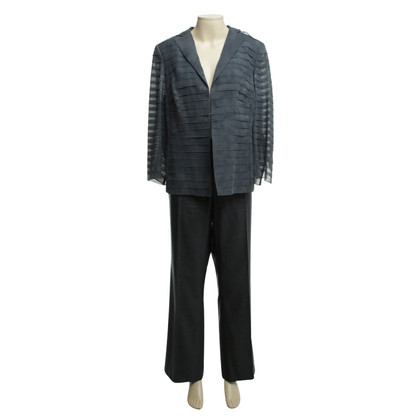 Akris Pants suit in grey-blue