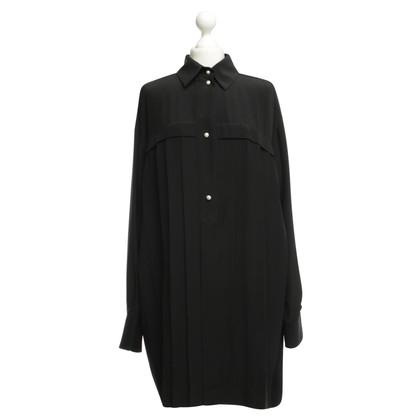 Chanel Abito in seta in nero