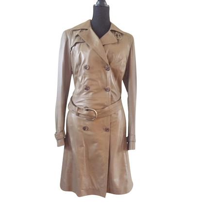 Arma Lambskin trench coat