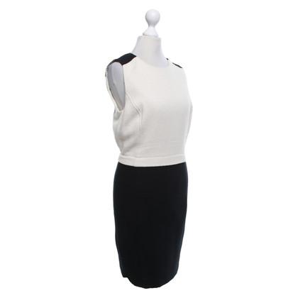 Tory Burch Schede jurk in beige / zwart