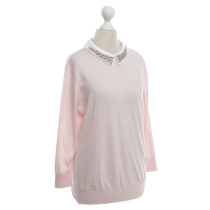 Ted Baker Knit sweater with jewelry