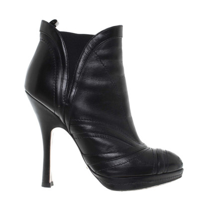 Prada High heel ankle boots leather