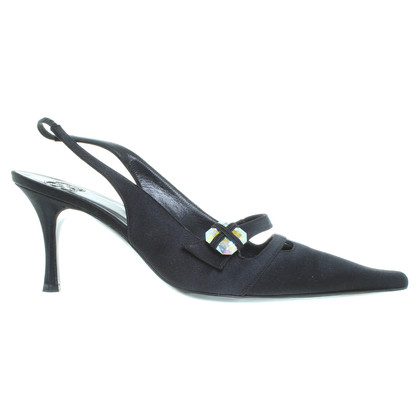 Escada Slingbacks with gemstone