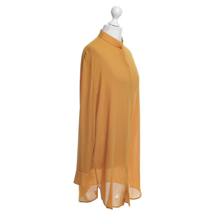 Acne Blouse à la moutarde jaune