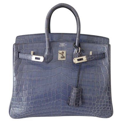 "Hermès ""Birkin Bag 25"" crocodile skin"