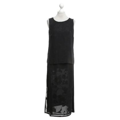 Windsor Top & Rok in zwart