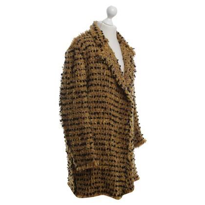 Lanvin Coat of bouclé stof